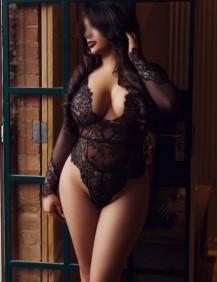 Escort Sabrina In Her Sexy Black Lingerie