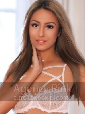 A photo of agency escort Lottie in her sexy lingerie looking as beautiful as ever Picture 1